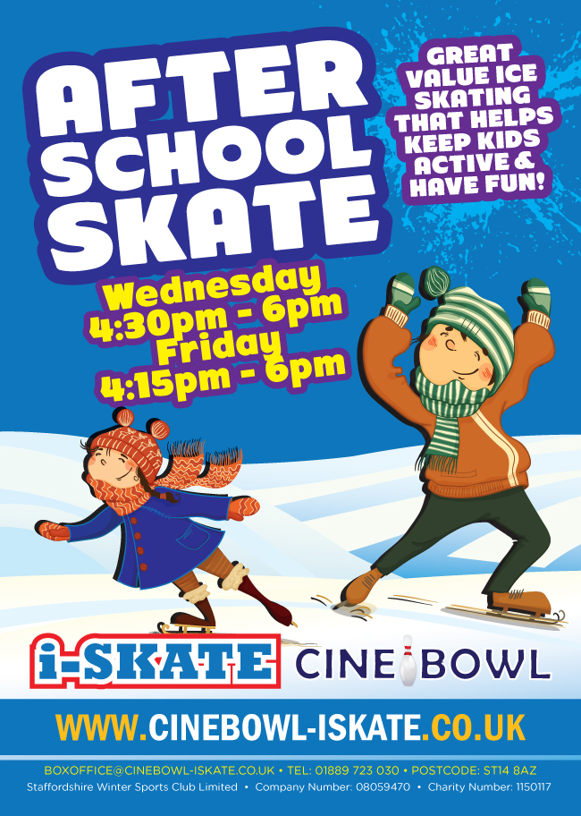 After school ice skating with Planet Ice!